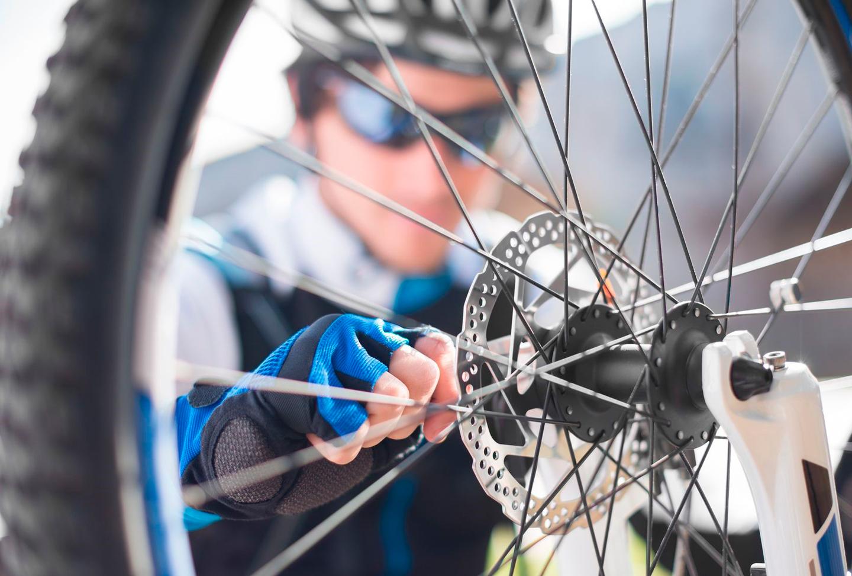 reparar bici, bicicletas tui
