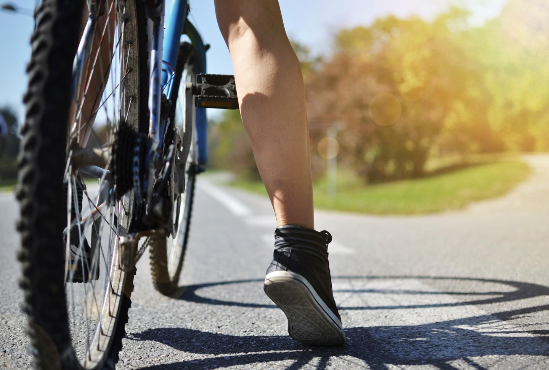 evitar calambres, tienda de bicicletas tui