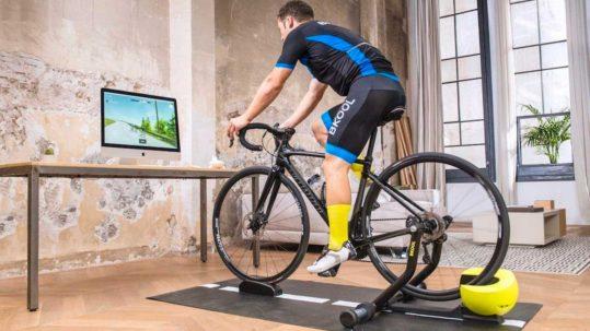 entrenamiento rodillo, rodillo bicicleta